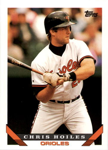 Photo of 1993 Topps #524 Chris Hoiles