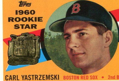 Photo of 1999 FanFest Yastrzemski #1 Carl Yastrzemski/1960 Topps
