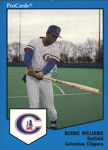 Photo of 1989 Columbus Clippers ProCards #736 Bernie Williams