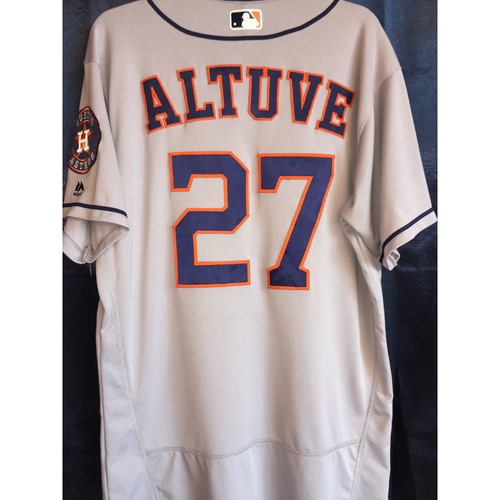 Photo of 2016 Jose Altuve Team Issued Road Jersey