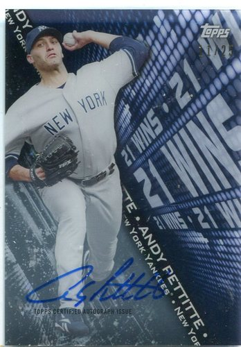 Photo of 2016 Topps High Tek Highlights Autographs Andy Pettitte 11/25