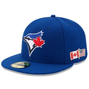 Toronto Blue Jays 2017 Authentic Collection 9/11 Canadian/US Flag Alternate Game Cap by New Era