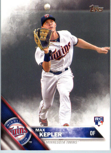 Photo of 2016 Topps #475 Max Kepler  Rookie Card -- Twins post-season