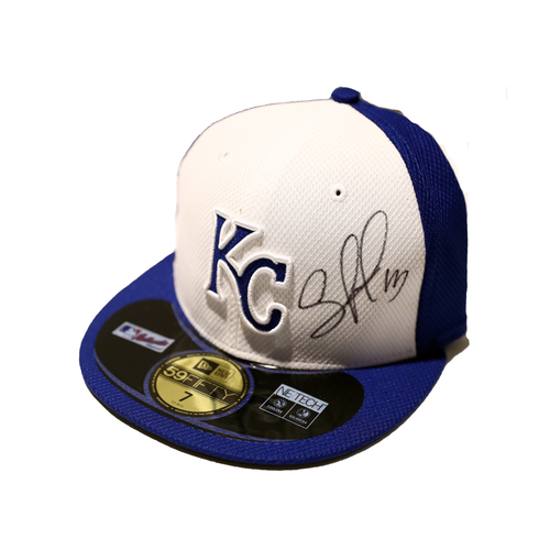 Compton Youth Academy Auction: Salvador Perez Signed Hat