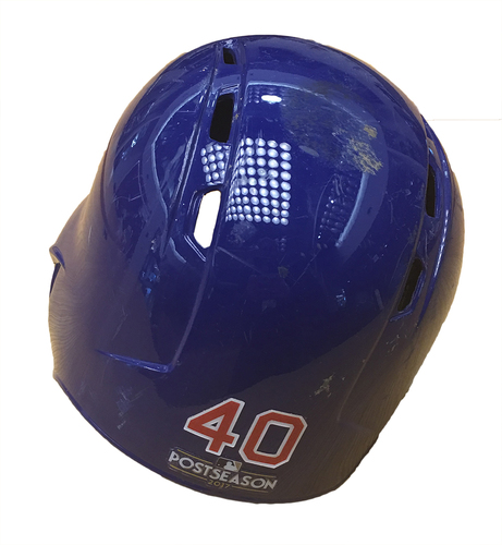 Photo of Willson Contreras 2017 Postseason Batting Helmet