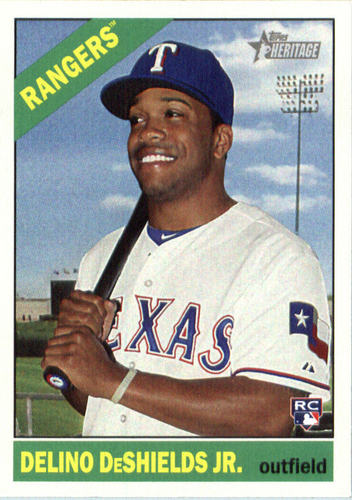 Photo of 2015 Topps Heritage #699 Delino DeShields Jr. RC