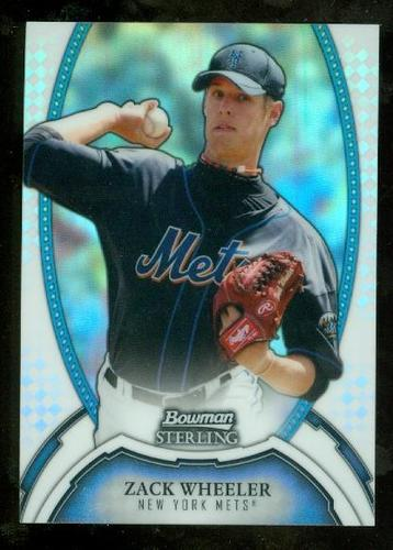 Photo of 2011 Bowman Sterling Prospects Refractors #16 Zack Wheeler