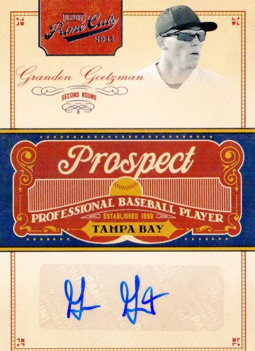 Photo of 2011 Prime Cuts Prospect Signatures #GGO Granden Goetzman