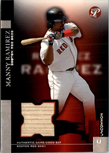 Photo of 2005 Topps Pristine #173 Manny Ramirez Bat