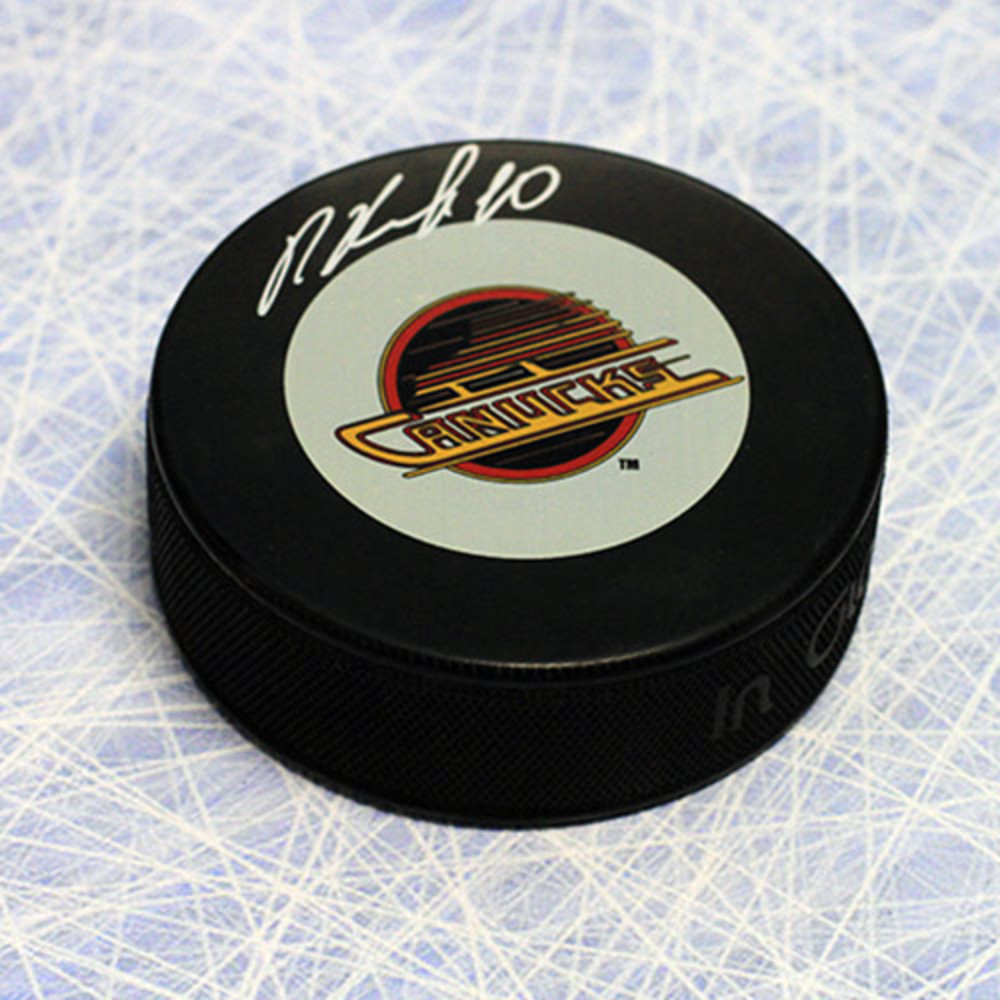 Pavel Bure Vancouver Canucks Autographed Hockey Puck