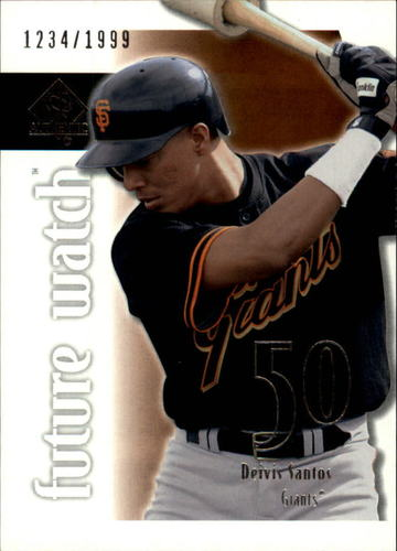Photo of 2002 SP Authentic #113 Deivis Santos FW