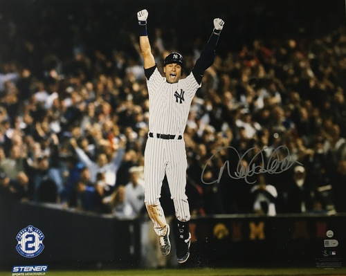 Photo of Derek Jeter Autographed 16x20