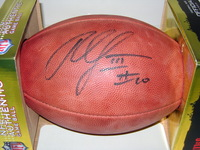 REDSKINS - ROBERT GRIFFIN III SIGNED AUTHENTIC FOOTBALL