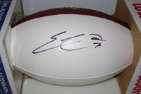 BILLS - ERIC WOOD SIGNED PANEL BALL