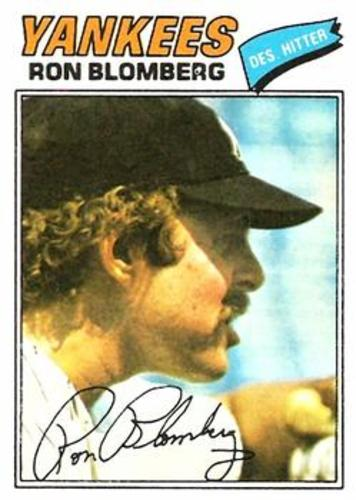 Photo of 1977 Topps #543 Ron Blomberg