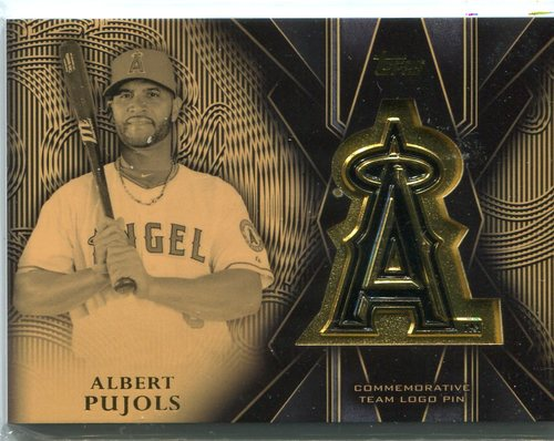 Photo of 2016 Topps Team Logo Pins  Albert Pujols