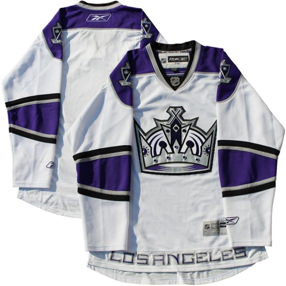 Los Angeles Kings - Unsigned 2007 & 2008 White RBK Jersey - SIZE LARGE