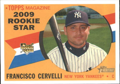 Photo of 2009 Topps Heritage #571 Francisco Cervelli RC