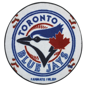Toronto Blue Jays Round Baseball Mat by Fan Mats