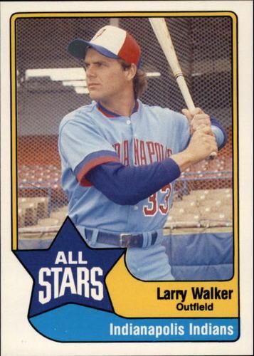 Photo of 1989 Triple A All-Stars CMC #7 Larry Walker
