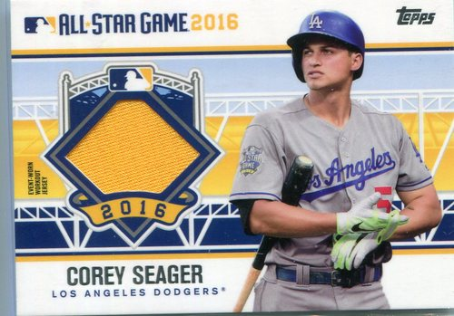 Photo of 2016 Topps Update All-Star Stitches Corey Seager