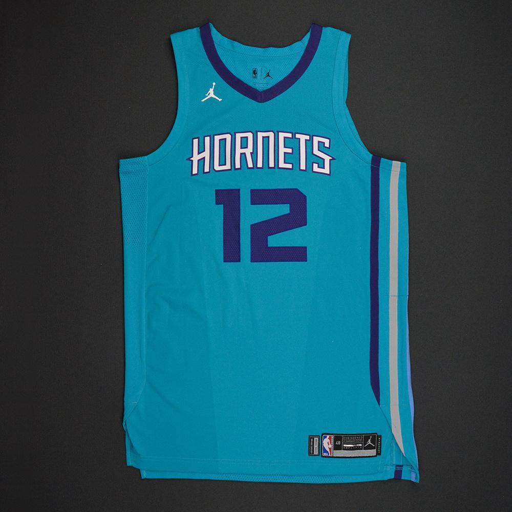 Dwight Howard - Charlotte Hornets - Kia NBA Tip-Off 2017 - Game-Worn 2nd Half Only Jersey - Double-Double