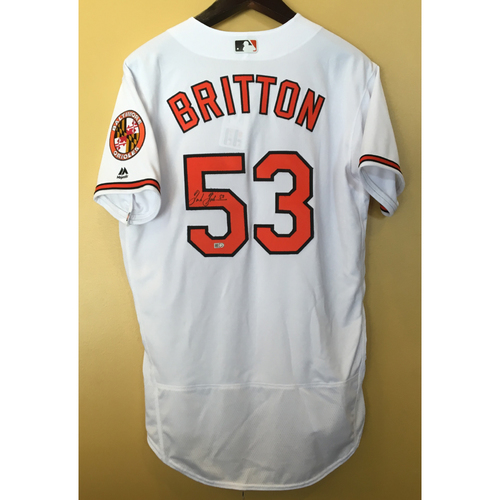Photo of Autographed Jersey: Zach Britton