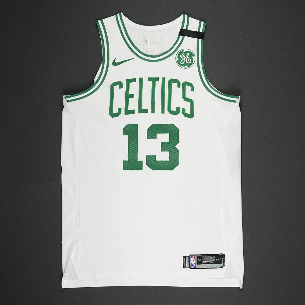 Marcus Morris - Boston Celtics - 2018 NBA Playoffs Game-Worn Jersey