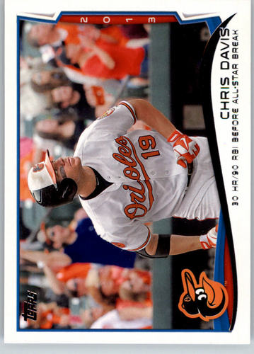 Photo of 2014 Topps #47 Chris Davis HL