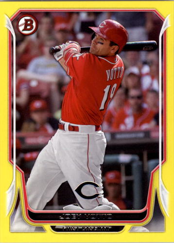Photo of 2014 Bowman Yellow #114 Joey Votto