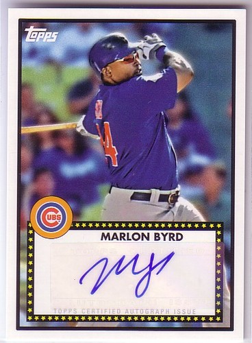 Photo of 2011 Topps Lineage 1952 Autographs #52AMBY Marlon Byrd