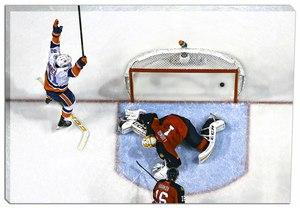 John Tavares - 20x29 New York Islanders Scoring vs Panthers Canvas - 2016 Stanley Cup Playoffs