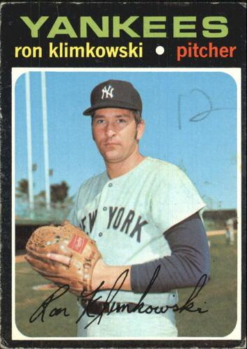 Photo of 1971 Topps #28 Ron Klimkowski