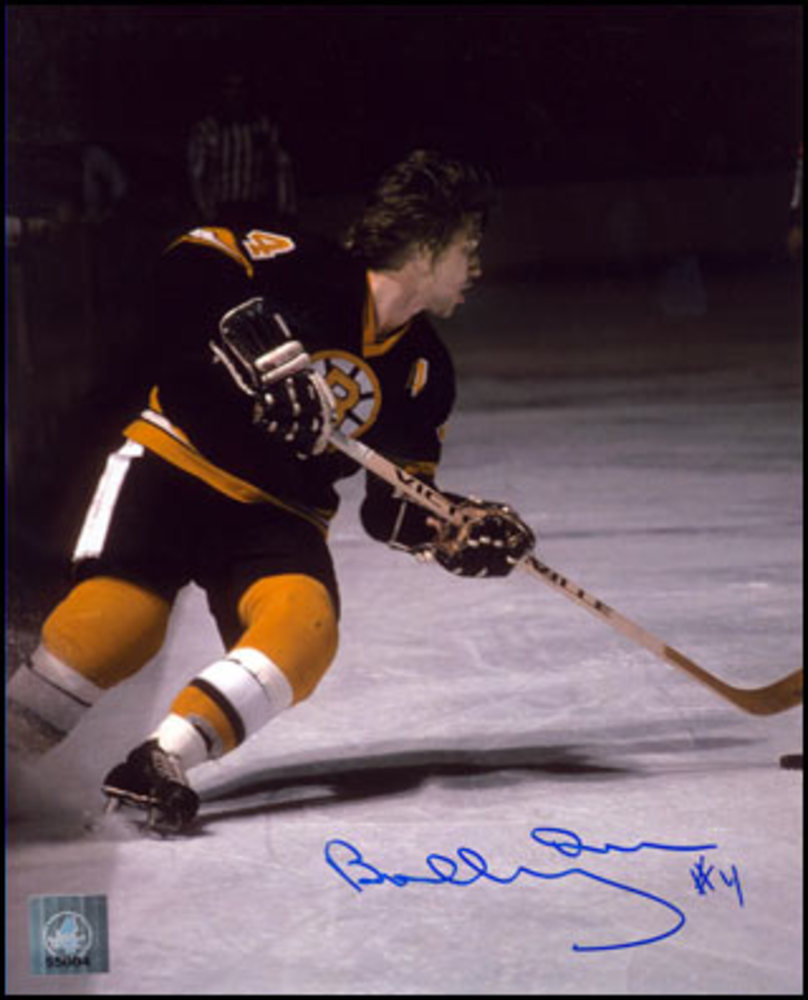 BOBBY ORR Autographed Boston Bruins SIGNED 8x10 Playmaker Photo: GNR COA