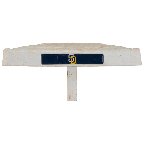 Photo of San Diego Padres Game-Used Third Base vs. Boston Red Sox from September 5, 2016