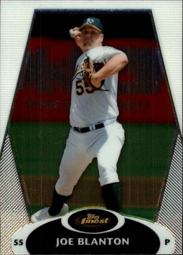Photo of 2008 Finest #66 Joe Blanton