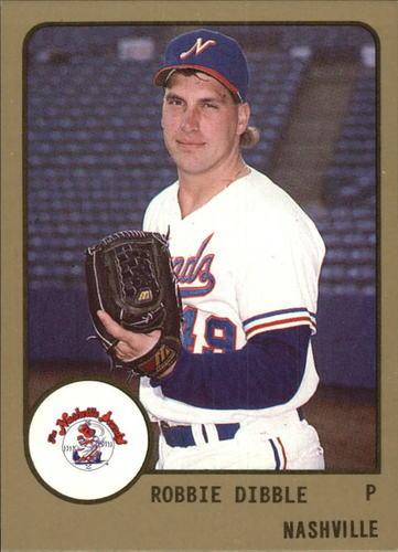 Photo of 1988 Nashville Sounds ProCards #493 Rob Dibble
