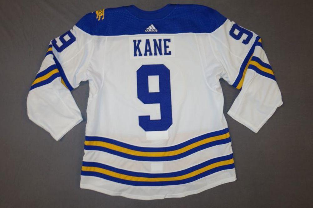 Evander Kane Buffalo Sabres 2018 Third Jersey - Worn on February 8, 2018 vs. New York Islanders