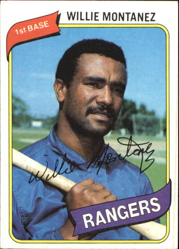 Photo of 1980 Topps #224 Willie Montanez