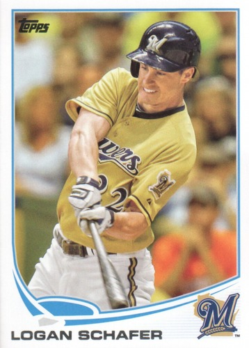 Photo of 2013 Topps Update #US291 Logan Schafer
