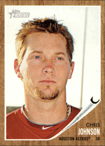Photo of 2011 Topps Heritage #248 Chris Johnson