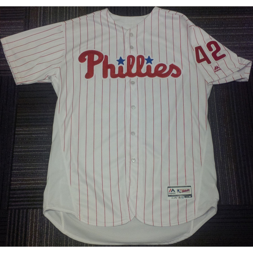 Photo of 2016 Game-Used Ryan Howard #42 Jersey