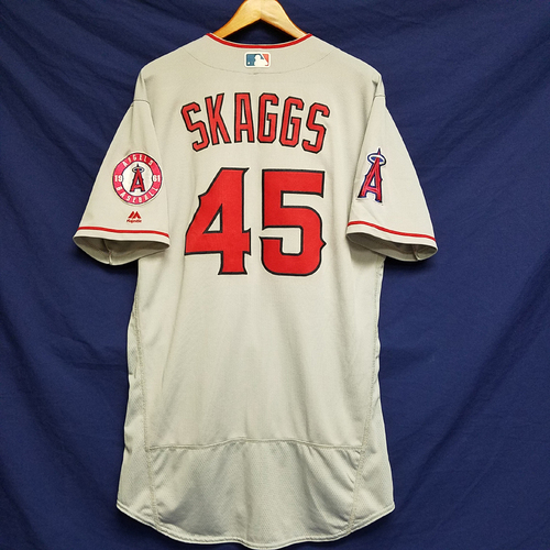 Photo of Tyler Skaggs Team-Issued 2016 Road Jersey