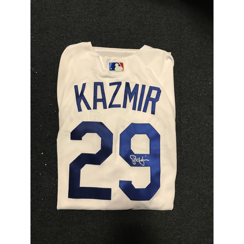 Photo of LA Dodgers Foundation Auction: Scott Kazmir Authentic Autographed Jersey
