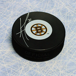 Andrew Ference Boston Bruins Autographed Hockey Puck