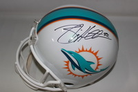 DOLPHINS - BRIAN HARTLINE SIGNED DOLPHINS REPLICA HELMET