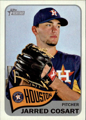 Photo of 2014 Topps Heritage #240 Jarred Cosart