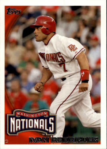 Photo of 2010 Topps Update #US155 Ivan Rodriguez