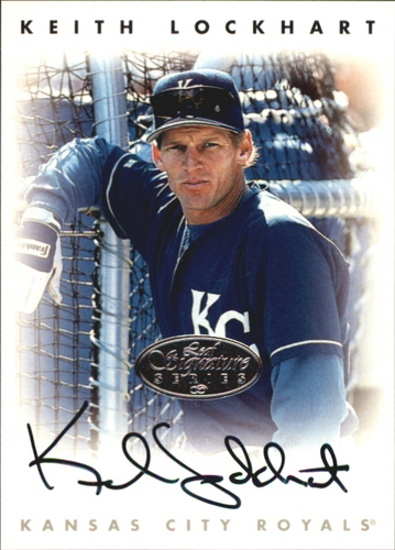 Photo of 1996 Leaf Signature Autographs Silver #138 Keith Lockhart