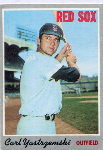 Photo of 1970 Topps #10 Carl Yastrzemski -- Red Sox Hall of Famer